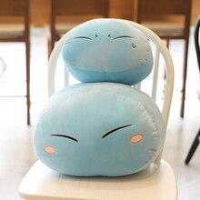 Rimuru Tempest Plush Toys Anime That Time I Got Reincarnated as a Slime Rimuru Tempest Pillow for Children Baby Cartoon Gift