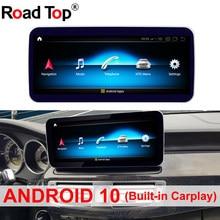 Autoradio Android 10, 12.5/10.25 pouces, GPS, 4G, écran tactile, pour voiture Benz classe CLS W218 (2010 – 2012)