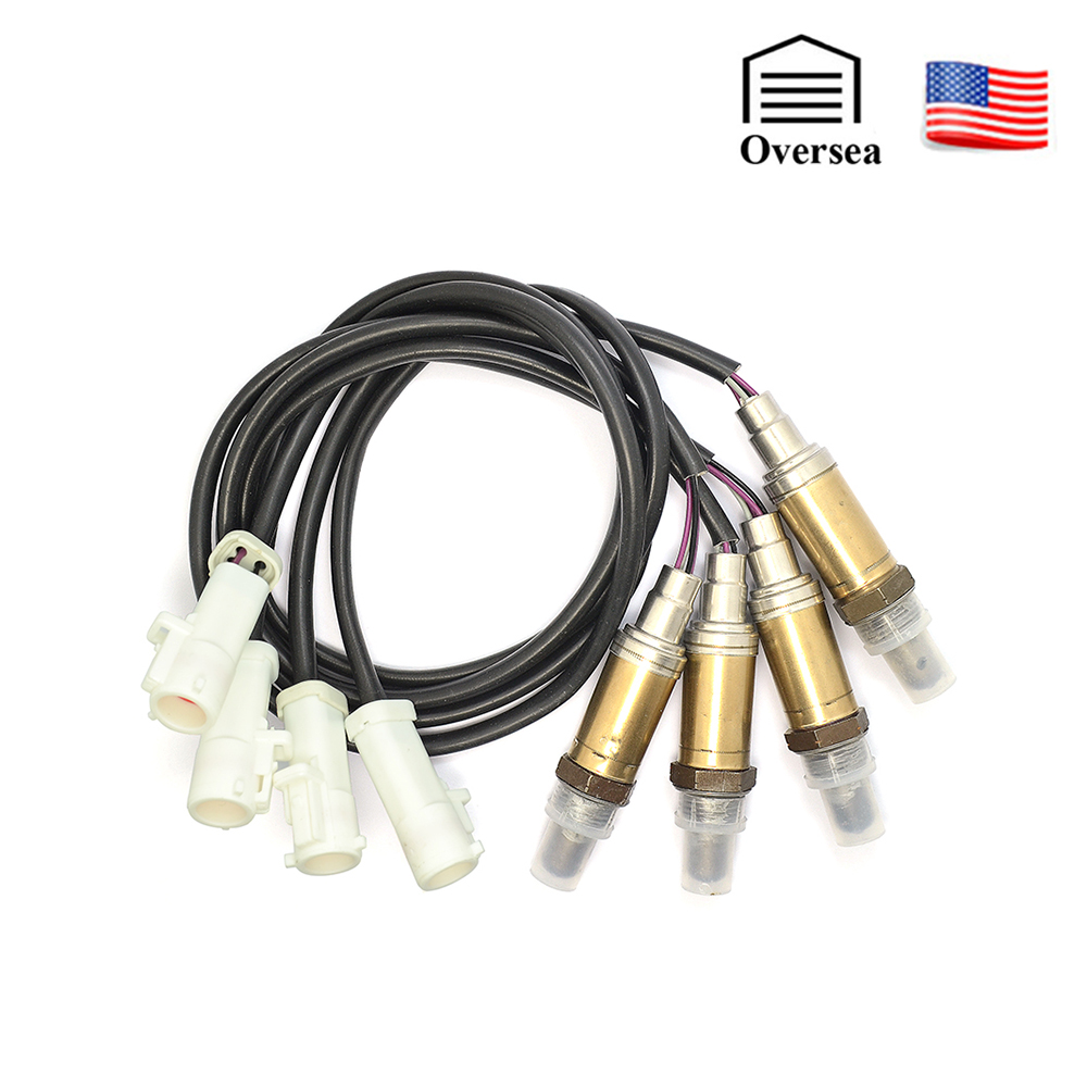 US 4-wire Universal Lambda Probe Oxygen O2 Sensor Front Rear Downstream Upstream For Ford Mercury Mazda Aston Martin 11171843 title=
