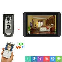 SmartYIBA WiFi Video Doorbell Camera IP Video Intercom Door Phone Door Security Waterproof Door Panel 1000 TVL IR