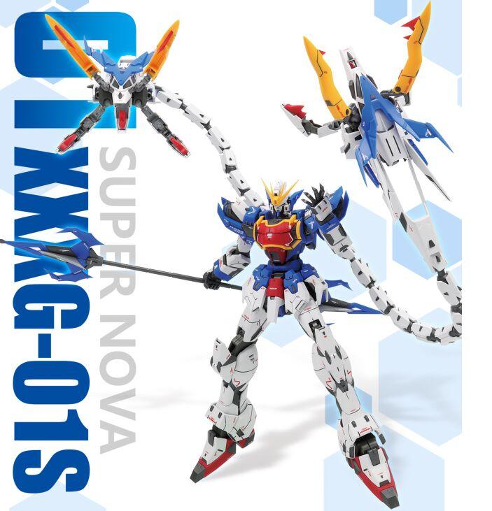 Super nova XXXG-01S2 altron gundam modelo kit mg 1/100 figura de ação conjunto brinquedo