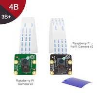 Module caméra framboise Pi V2-8MP 1080P30/Module caméra framboise Pi NoIR V2-8MP 1080P30 prise en charge framboise Pi 3b, 3b +, 4b