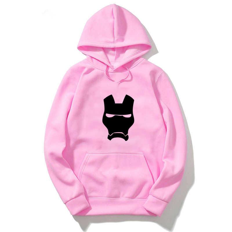 Iron Man Hoodies Vrouwen/Mannen Mode Lange Mouw Sweatshirts Truien Unisex Funny Lange mouwen Hoodies Herfst Harajuku Hoody
