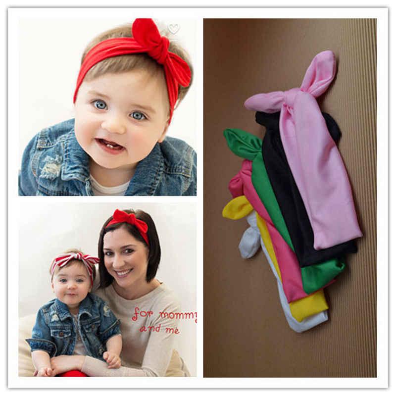Moda colorido bebé niñas encantador lazo para cabello bandas recién nacido diademas de cinta Accesorios de cabeza 2019 nuevo