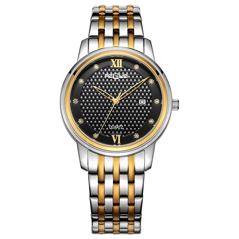 Japan MIYOTA Quartz Movement Sapphire Male Clock FRANCE AILUO Men Watches Luxury Brand Watch Couple's Waterproof Watch 7048M
