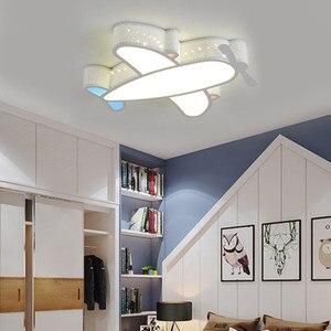 Image 1 - Modern Simple Novelty Cartoon Cute Animal LED Kid Airplane Ceiling Light Lamp Nursery Kids Baby Child Room Bedroom Home Lighting