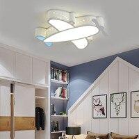 Modern Simple Novelty Cartoon Cute Animal LED Kid Airplane Ceiling Light Lamp Nursery Kids Baby Child Room Bedroom Home Lighting
