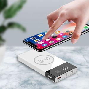 Image 3 - 6x18650 Batterie DIY Qi Drahtlose Ladegerät QC3.0 USB Typ C PD Power Bank Box Fall X6HA