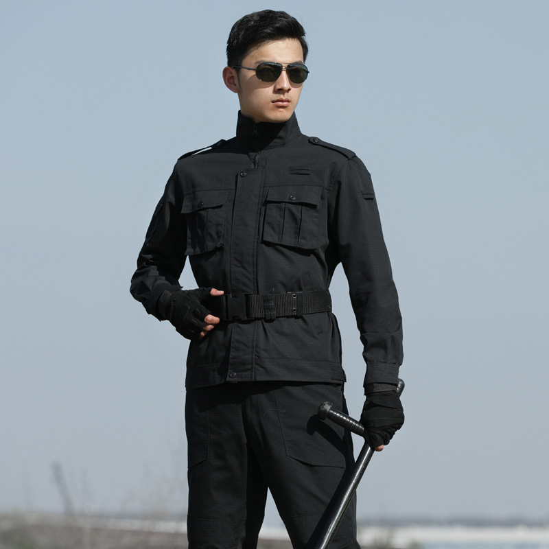 2019 New Black Tactical Camouflage Military Uniform Clothes Suit Men US Army CS Clothes Military Combat Jackets Cargo Pants in Military from Novelty Special Use