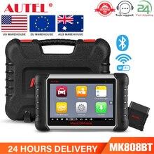 Autel – MaxiCOM MK808 outil de Diagnostic de voiture, lecteur de Code automobile, OBD2, OBD2, EPB, IMMO, DPF, SAS, TPMS