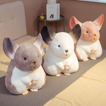 2020 New Cute Mouse Plush Toy Chinchillas Soft Toy Stuffed Animal Plush Doll Baby Appease Pillow Gift For Kids недорого