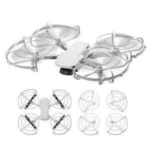 Image 1 - Hélice guarda anti colisão lâminas de proteção gaiola capa para dji mavic mini drone acessórios liberação rápida guarda protetor