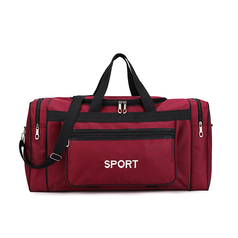Men Sport Luggage Travel Bag Women Weekend GYM Yoga Fitness Bags Handbag Nylon Big Duffle Bag Packing Cubes