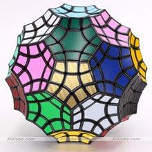 マジックパズルverypuzzleキューブ32軸凹面速度tuttminx奇妙な形状教育ロジックツイストゲームクーボ