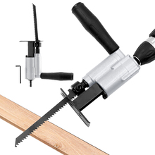 Multi-function Electric Drill Connection Saw Woodworking Reciprocating Saw Chainsaw Home Saber Portable Cutting Tools