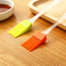 Oil brush kitchen pancake edible baking small brush household high temperature resistant non-linting silicone barbecue oil brush
