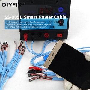 Image 5 - SS 905D آيفون أندرويد الذكية كابل الطاقة كشف خط التعرف التلقائي الهاتف أداة إصلاح ل iPhone5 11 هواوي شاومي