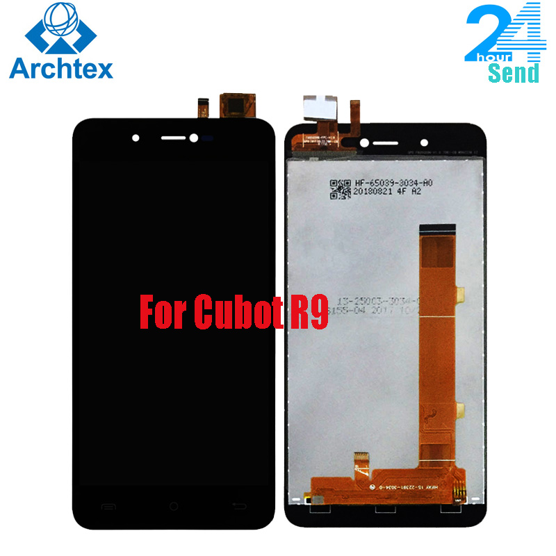 For Original Cubot R9 LCD Display +Touch Screen Digitizer Assembly Replacement Parts 5.0 Inch