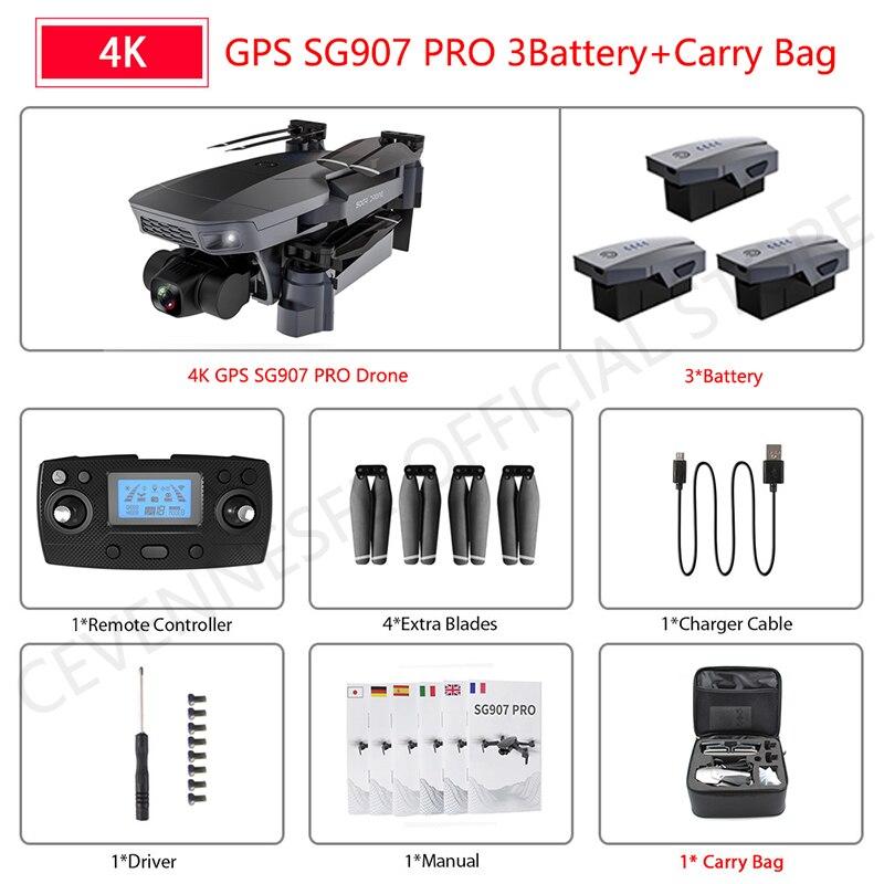 SG907 pro 4K 3B Bag