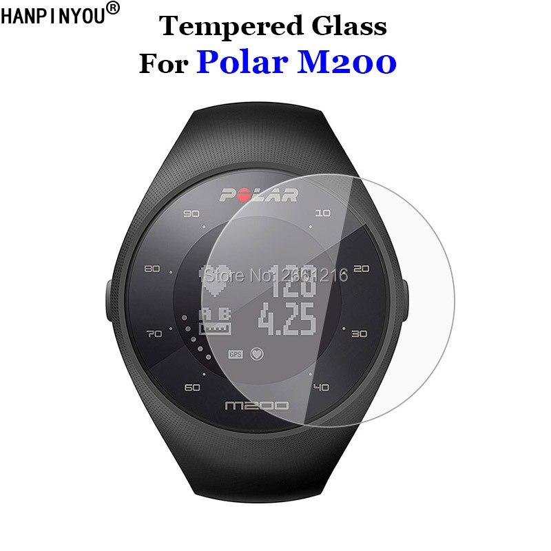 Para Polar M200 vidrio templado 9H 2.5D película protectora de pantalla Premium para Polar M200 deporte reloj inteligente Artesanías de cristal personalizadas en miniatura con forma de corazón romántico, regalos de amor, accesorios de decoración para el hogar DIY
