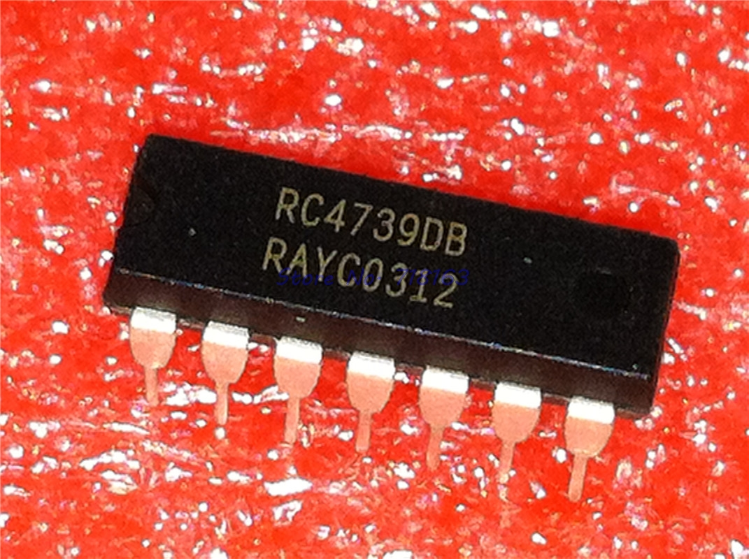 1pcs/lot RC4739DB RC4739 DIP-14