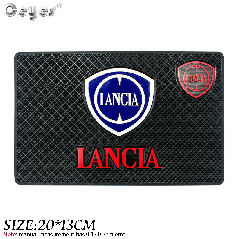 Ceyes Car Styling Anti Slip Mat Accessories Sticker Case For Lancia Delta Ypsilon Lybra Musa Kappa Voyager Auto Interior Pads