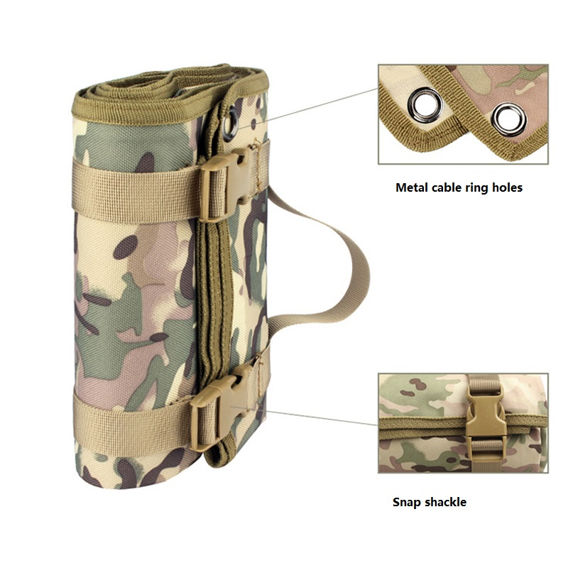Image 4 - Outdoor Gathering Mat Shooting Pad Nonslip Roll Up Portable Shooting Mat for Outdoor Training Camping Airsoft Folding Mat GearHunting Gun Accessories   -
