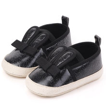 Baby Girls Boys Shoes Comfortable Butterfly-knot Fashion First Walkers Kid Shoes Sapato Infantil 2019 New arrival детская обувь(China)