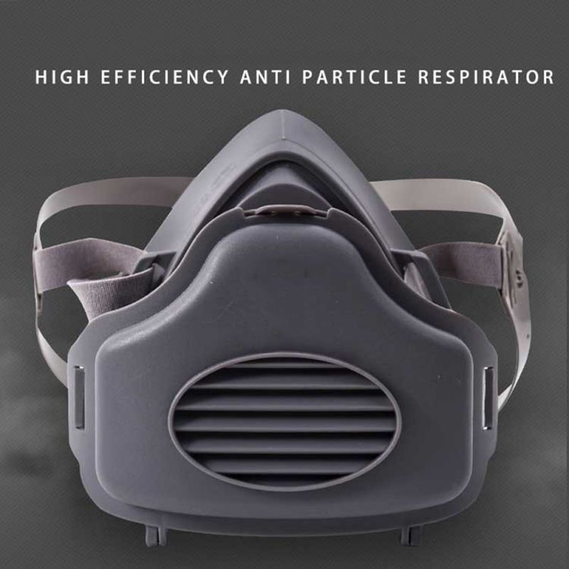 Paint Spraying Anti Dust Mask Industrial Protective Safety Gas Mask Half Face Respirator