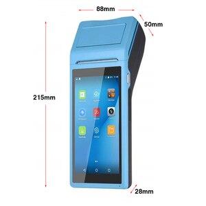 Image 4 - נייד כף יד PDA אנדרואיד קופה מסוף Terminales 3G אלחוטי Wifi Bluetooth מחשב כף יד עם 58mm מדפסת תרמית 5.5 מגע מסך