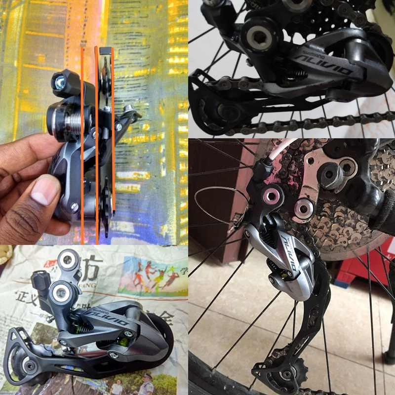 Новый Alivio RD-M4000 9 скоростной горный велосипед задний переключатель 27 скоростной Черный дорожный велосипед обновление M430 M610