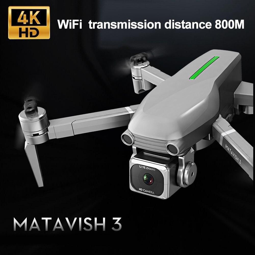 L109 S RC Drone Quadcopter 4K HD Cámara 5G WiFi GPS Drones con una tecla de retorno altura mantener 800m WiFi imagen distancia dron Juguetes - 2