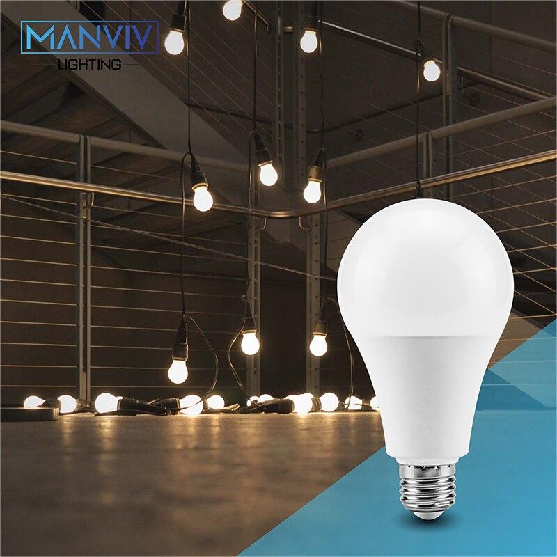 6 шт. светодиодный лампа 9 Вт, 12 Вт, 15 Вт, 18 Вт, светодиодный лампа светильник E27 дневной белый теплый холодный белый 220 В лампада ампулы Bombilla све...