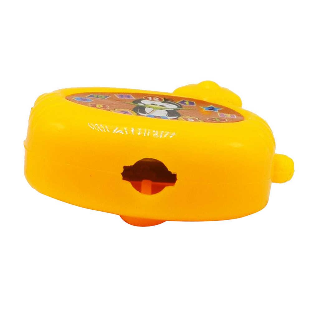 5 pçs/set mini plástico colorido dos desenhos animados bloqueio com chave crianças brinquedos educativos novidade mordaça brinquedo presente torcido ovo engraçado jogos