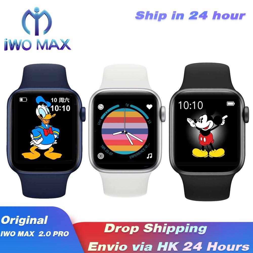 Iwo max 2.0 pro relógio inteligente diy rostos bluetooth chamada esporte relógio gps rastreador girar botão à prova dbp água hr bp relógio inteligente pk iwo13|Relógios inteligentes| - AliExpress