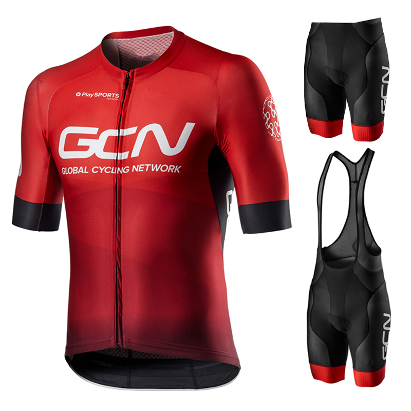 2021 new cycling clothes suit men's cycling clothes sportswear bicycle with cycling clothes wear-resistant bib suit breathable