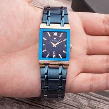 Männer Uhren Top marke Luxus WWOOR Gold Schwarz Platz quarzuhr männer 2021 Wasserdicht Goldene Männliche Armbanduhr Männer uhren 2021