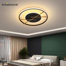 Светодиодный потолочный светильник акриловая люстра современный