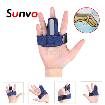 Trigger Adjustable Finger Fixing Splint for Fracture Arthritis Fixed Finger Straighten Brace Belt Thumb Pain Relief Tape Bandage adjustable finger joint splint orthodontics fixer finger joint physical exercise protection fracture support brace 75x30x27cm