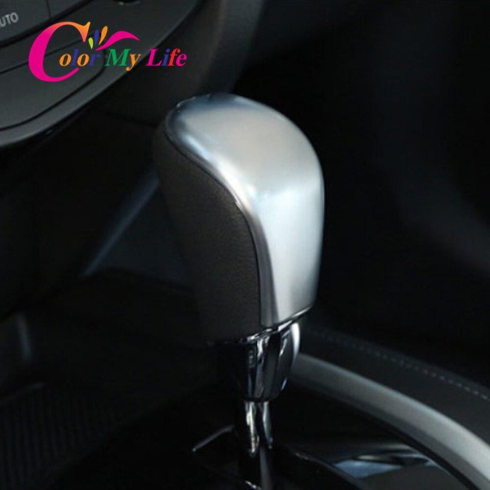 Genuine Leather AT Gear Shift Knob Fit Nissan Qashqai Dualis X-Trail Rogue