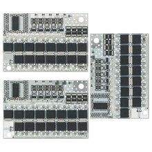 18v 21v 100a 3s/4/5S bms ternary bateria de lítio proteção placa de circuito li-polímero equilíbrio placa de carregamento módulo