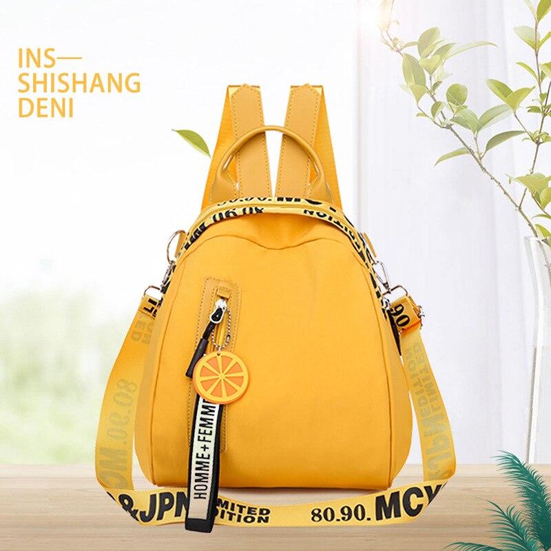 New Fashion Simple Design Women Casual Daypacks Multi Pocket Travel Backpacks Female School Bag For Teenage Girls Shoulder Bags