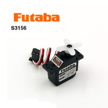 Original Futaba ultra-miniature metal gear servo S3156 steering gear for aviation models 1pcs 100% original new hitec hs 625mg metal gear dual bb servo nib
