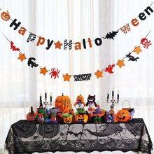 3m Halloween Dekoration Horror Kürbis Bunting Flagge Requisiten Geister Banner Girlande Halloween Partei Liefert