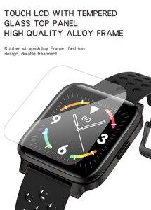 Image 4 - X3C Smart Watches IP68 impermeabile lunga durata della batteria rifiuto chiamata Fitness Tracker donna uomo sport Smartwatch per IOS Android