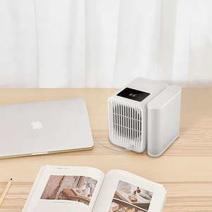 Image 5 - Youpin 1000Ml Capaciteit Mini Usb poort Draagbare Airconditioner Touch Screen 99 Speed Aanpassing Energiebesparende Ventilator Koeling