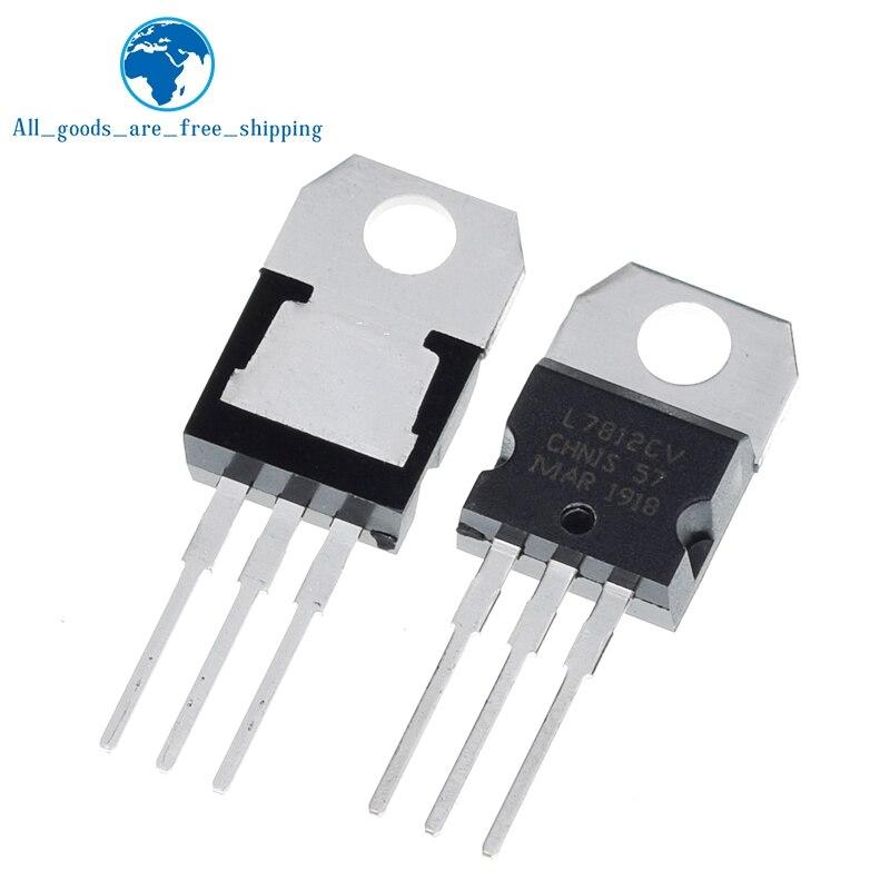 F059 10pcs 7812 L7812CV L7812 TO-220 12V voltage regulator