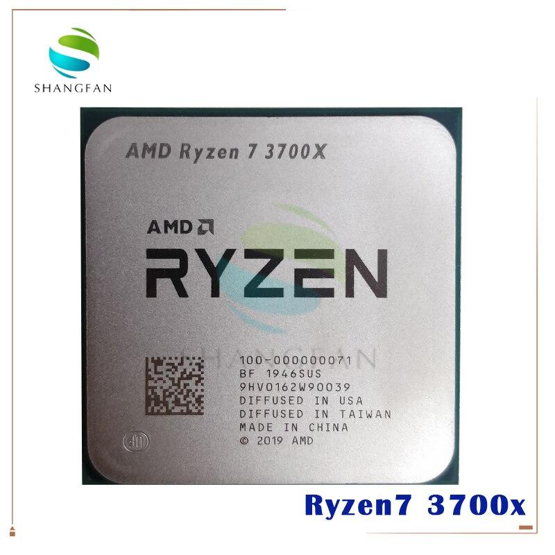 AMD Ryzen 7 3700X R7 3700X 3.6 GHz 7NM L3=32M 100 000000071 Eight Core Sinteen Thread CPU Processor Socket AM4|CPUs|   - AliExpress