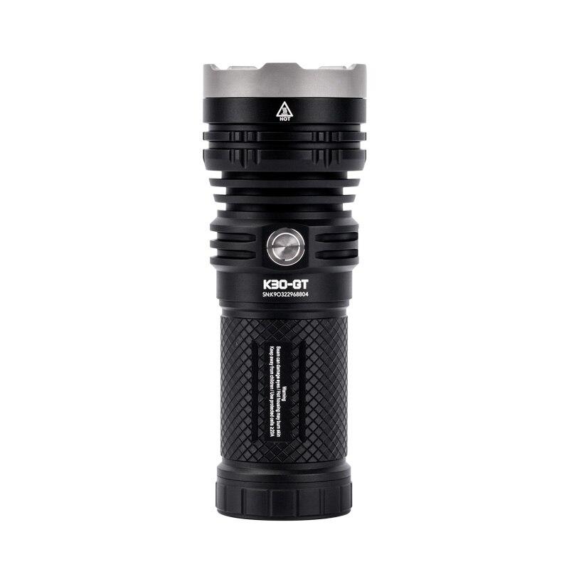 Acebeam-faisceau K30 GT longue Distance, lampe de poche LED Max 5500 lumens, 1,024 mètres, faisceau à portée de main