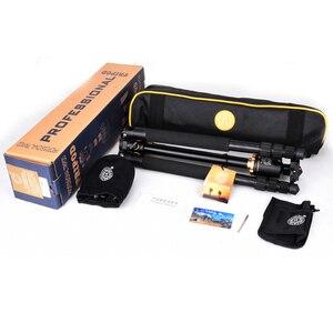 Image 5 - QZSD Q999H alüminyum alaşımlı kamera tripodu Video Monopod ile profesyonel uzatılabilir Tripod hızlı bırakma plakası ve topu kafa